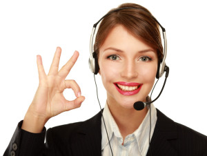 Customer-service-woman