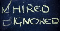 hired or ignored