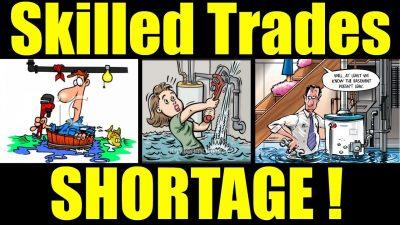 Tradesmen skills shortages in Australia